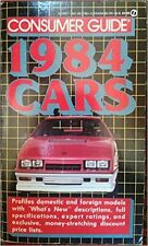 Cars Consumer Guide 1984 Mass Market Paperback – February 7, 1984