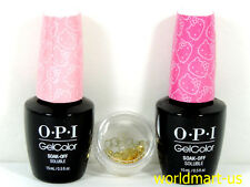 OPI GelColor Soak-Off Hello Kitty Collection *Limited Edition Gel Polish Duo Kit