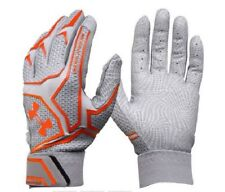Nwt Under Armour Men's Yard ClutchFit Batting Glove Grey Orange X-Large