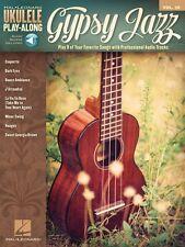 Gypsy Jazz Sheet Music Ukulele Play-Along Book Audio Online NEW 000146559