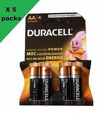 Aa Duracell Batería alcalina Mn1500 / LR6 - 4 Baterías