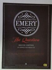 """Emery """"The Question"""" Full Page Ad magazine clipping"""