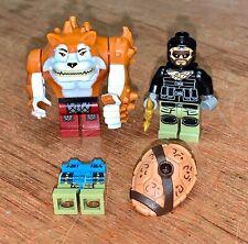 Bundle LEGO TMNT minifigs / spare parts DOGPOUND FOOT SOLDIER LEONARDO 79117