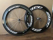 Zipp 606 (808/404) wheelset. Carbon Tubular 10 Speed