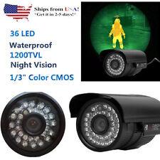 1200Tvl Hd Outdoor Cctv Surveillance Security Camera 36Ir Day Night Video Tn