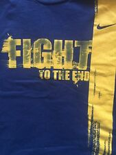 Original Nike Australia Fight To The End Soccer/ Cricket Men's Rare T-shirt XL
