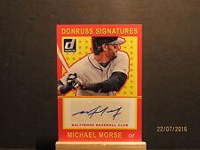 2014 Donruss Signatures #46 Michael Morse