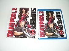 Deadpool 2 BLU-RAY+DIGITAL w/ Slipcover -VG Condition- Ryan Reynolds-ShipsIn24hr