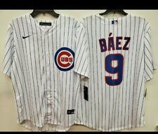 "0729 NIKE Chicago Cubs JAVIER BAEZ ""REAL"" 2020 Baseball JERSEY LARGE New"