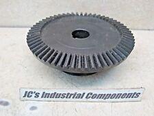"Steel bevel gear  Martin    BS1060-3  10 pitch   60 teeth   1"" bore   20 deg"