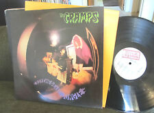 The CRAMPS Psychedelic Jungle IRS ILLEGAL LP ilp009 '81 lux interior /orange inr