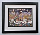 Charles Fazzino Mickeywood Pop Art Framed
