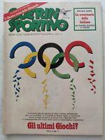 GUERIN SPORTIVO 29/1980 + LIBRETTO ROSSO OLIMPIADI MOSCA '80 FRANCESCO GUCCINI