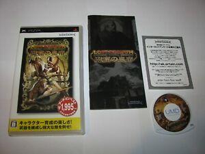 Lost Regnum Makutsu no Koutei Playstation Portable PSP Japan import US Seller