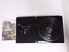 Wii DJ Hero Bundle with Limited Edition Glossy Black Renegade Turntable - NEW