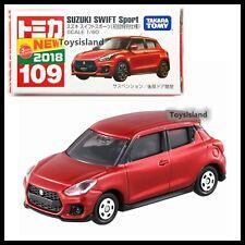 TOMICA 109 SUZUKI SWIFT SPORT 1/60 TOMY 2018 July NEW MODEL RED First edition