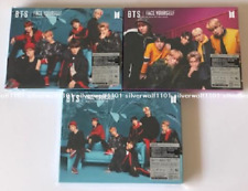 BTS FACE YOURSELF Limited Edition A B C set CD+Blu-ray+DVD+Booklet+Sticker Japan