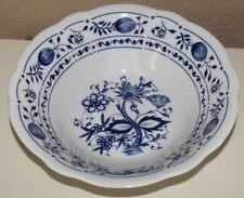 KAHLA GERMANY BLUE ONION  LARGER SERVING BOWL
