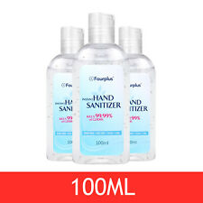 100ML Antibacterial Wash Hand Sanitiser Gel 70% Alcohol Kills 99.9% Germs SALE