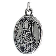 argento sterling st. san valentino forma ovale MEDAGLIETTA CIONDOLO/ciondolo