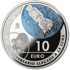 Spanien - 10 Euro 2019 - 50 Jahre Mondlandung - 27 gr Silber PP - im Etui
