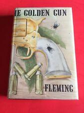 """Erstausgabe Ian Fleming """"THE MAN WITH THE GOLDEN GUN"""" JAMES BOND 1st/1st Edition"""
