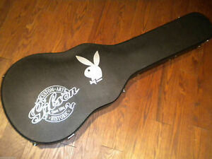Rare Gibson PLAYBOY Bunny Les Paul Custom Shop Art Historic Guitar Case 1 Of 50