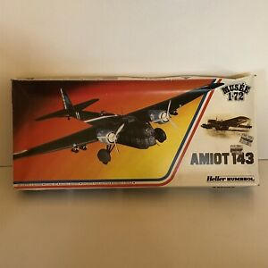 Heller 1/72 Amiot 143 Musee Special Edition # 80390 Model Kit Aeroplane Humbrol