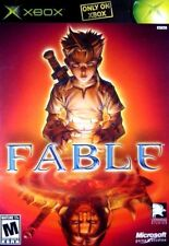 FABLE [Original Black Label version] (XBOX RPG Video Game 2004) **Free Shipping!