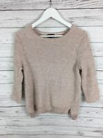 TOPSHOP Jumper  - Size UK10 - Pink - Great Condition - Women's