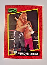 1991 IMPEL WCW FABULOUS FREEBIRDS CARD #123 JIMMY GARVIN  MICHAEL HAYES