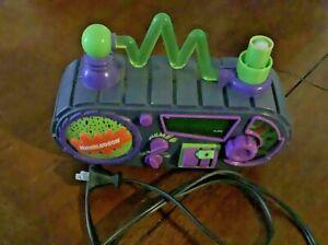 Nickelodeon TIMEBLASTER ALARM CLOCK AM/FM RADIO, WORKS!!