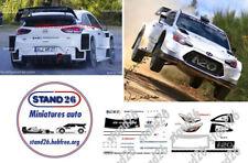 Decals Hyundai i20 WRC Loeb Vesoul Mecanic Show 2019 Pusey 1//43e