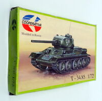 Cooperativa 1/72 Scale Model Kit R72009 - T-34.85 Russian Tank