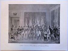 Lithographie de Marin, Napoléon, Schoenbrunn