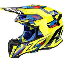Airoh Twist Off da Strada Enduro MX Motocross Casco - Tc16 Giallo/nero M