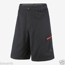 Nike Air Jordan Take Flight Cargo Shorts Sz 30 Black Red 639303 010 New Nwt
