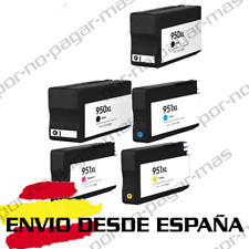5 CARTUCHOS DE TINTA COMPATIBLE NON OEM HP 950 951 XL   OfficeJet Pro 8630