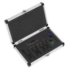 Genuine Sealey SM3025CS5 | 8mm Indicizzabile tornio tornitura Tool Set 7pc