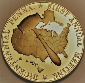 1st National Conference of State Legislatures in Pennsylvania~Franklin Mint