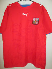 Czech Republic 2006-2007 Home Football Shirt Size Medium /9761