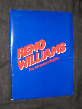 HUGE Original REMO WILLIAMS 18 Pics 59 Pages JOEL GREY Fred Ward