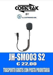 """JH-SM003 S2: Mic / Altop Heavy Duty Avec Connecteur À """" L """" Modèle Icom 333002"""