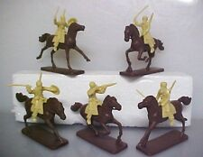 5 Mounted Afghan Tribesmen AIP plastic soldiers #5489