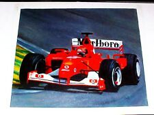 Ferrari Formula 1 Oil Painting F1