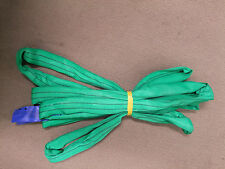 "x10 x ""GREEN"" LIFTING SLINGS 2000KG WLL - 3 Metres (each) Rigging Sling"