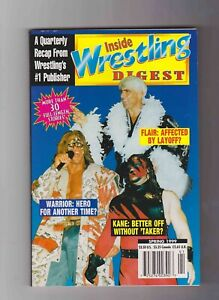 Inside Wrestling Digest Spring 1999 Ric Flair Ultimate Warrior Kane WWF WCW