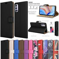 For Oppo Reno4 Pro Z 5G Wallet Case, Slim Magnetic Flip Leather Book Phone Cover