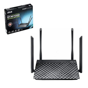 ASUS RT-AC1200G+ Dual-Band Gigabit Wireless USB Router/Access Point/Bridge Mode