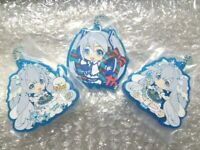 Snow Miku 2019 assort rubber strap all 3 set B Prize Hatsune Anime from JAPAN